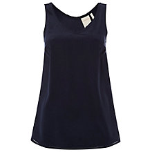 Buy White Stuff Mable Vest Top, Navy Online at johnlewis.com