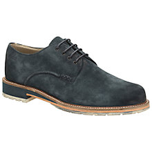 Buy Clarks Arton Walk Suede Shoes, Navy Online at johnlewis.com