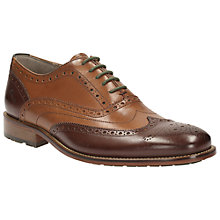 Buy Clarks Penton Limit Brogues, Tan Online at johnlewis.com