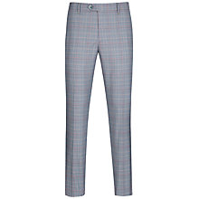 Buy Ted Baker Havtro Check Suit Trousers, Blue Online at johnlewis.com