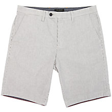 Buy Ted Baker Selden Stripe Cotton Shorts, Grey Online at johnlewis.com