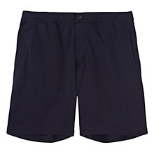 Buy Jigsaw Cotton Jersey Shorts, Navy Online at johnlewis.com