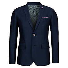 Buy Ted Baker Niteyes Wool Blend Blazer, Navy Online at johnlewis.com