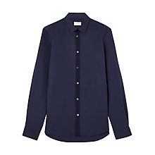 Buy Jigsaw Cotton Stretch Slim Fit Shirt Online at johnlewis.com