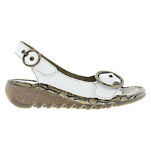 Buy Fly Tram Leather Wedge Sandals Online at johnlewis.com
