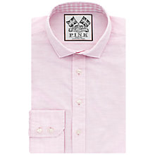 Buy Thomas Pink Bailey Plain Slim Fit Shirt, Pink Online at johnlewis.com
