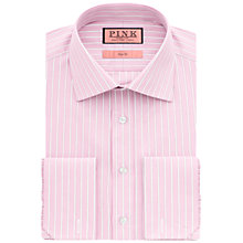 Buy Thomas Pink Koppel Stripe Shirt, Pink/White Online at johnlewis.com