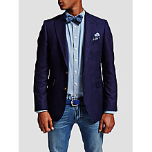 Buy Thomas Pink Baker Cotton Blazer, Navy Online at johnlewis.com
