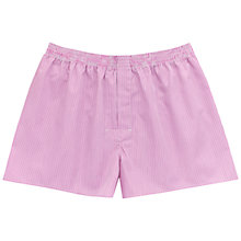 Buy Thomas Pink Aberavon Stripe Boxer Shorts, Pink/White Online at johnlewis.com