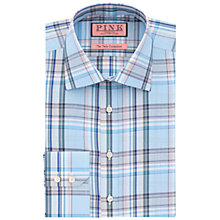 Buy Thomas Pink Kessel Check Shirt, Turquoise/Green Online at johnlewis.com