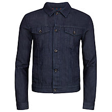Buy Ted Baker Shrewdd Denim Jacket, Rinse Denim Online at johnlewis.com