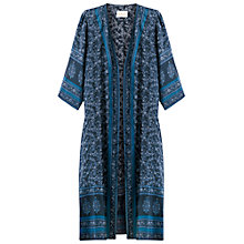 Buy East Virginia Silk Kimono, Indigo Online at johnlewis.com