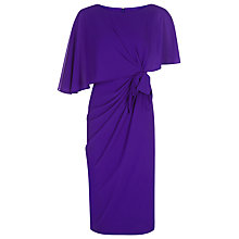 Buy Jacques Vert One Layer Tie Dress, Bright Purple Online at johnlewis.com