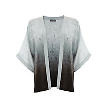 Buy Mint Velvet Drew Print Silk Kimono, Multi Online at johnlewis.com