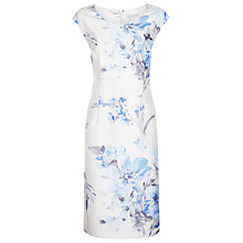 Buy Jacques Vert Printed Shift Dress, Light Blue Online at johnlewis.com