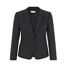 Buy Hobbs Lindsey Jacket, Navy Online at johnlewis.com