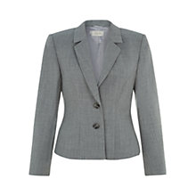 Buy Hobbs Nala Jacket, Light Grey Mel Online at johnlewis.com