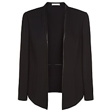 Buy Jacques Vert Waterfall Unlined Jacket, Black Online at johnlewis.com