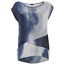 Buy Mint Velvet Beth Print Layered Top, Multi Online at johnlewis.com