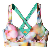 Buy Adidas Infinite Series Supernova Sports Bra, Multi Online at johnlewis.com