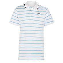 Buy Adidas Essential Stripe Polo Shirt Online at johnlewis.com