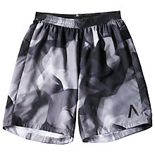 Buy Adidas Aktiv 9-Inch Running Shorts, Black Online at johnlewis.com