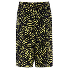 Buy Warehouse Mini Palm Print Boy Shorts, Multi Online at johnlewis.com