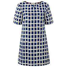 Buy White Stuff Abstract Tunic Cotton Dress, Oyster Blue Online at johnlewis.com