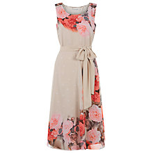 Buy Jacques Vert Flower and Spot Prom Dress, Multi/Cream Online at johnlewis.com