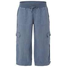 Buy White Stuff Chattering Cropped Trousers, Light Oyster Blue Online at johnlewis.com