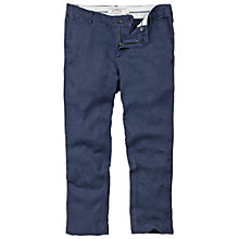Buy Fat Face Linen Crop Trousers, Iris Online at johnlewis.com