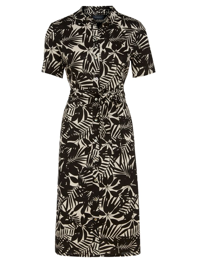 viyella leaf print linen shirt dress natural, viyella, leaf, print, linen, shirt, dress, natural, 8|12|10|20|16|14|18, women, plus size, womens dresses, new in clothing, 1931327