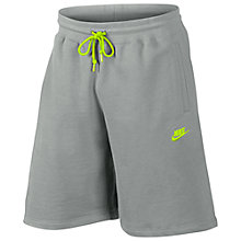 Buy Nike AW77 French Terry Training Shorts Online at johnlewis.com