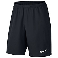 Buy Nike Strike Football Shorts, Black Online at johnlewis.com
