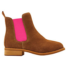 Buy Little Joule Chelsea Suede Boots Online at johnlewis.com