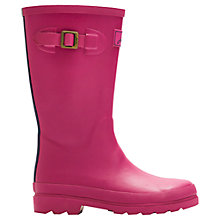 Buy Little Joule Field Wellington Boots, Ruby Online at johnlewis.com