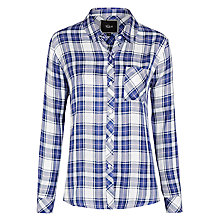Buy Rails Kendra Plaid Shirt, Lavender Online at johnlewis.com