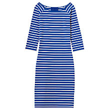 Buy Winser Stripe Dress, Midnight/Ivory Online at johnlewis.com