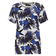 Buy Minimum Minelle Print T-shirt, Patriot Blue Online at johnlewis.com