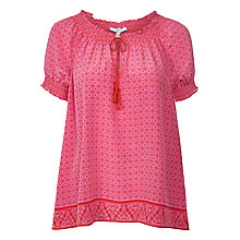 Buy Joie Masha Blouse, Paradise Red Online at johnlewis.com