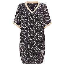 Buy Minimum Sport Print Dress, Soft Peach Online at johnlewis.com