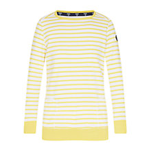Buy Barbour Berkley Sweatshirt, Yellow Online at johnlewis.com