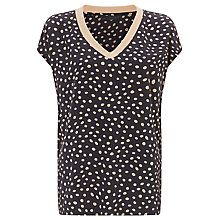 Buy Minimum Lennie Spot Top, Soft Peach Online at johnlewis.com