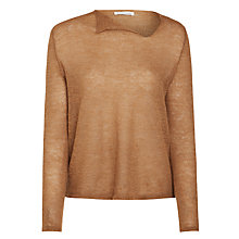 Buy Nicole Farhi Macgarry Jumper, Fawn Online at johnlewis.com