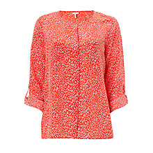 Buy Joie Corbett Blouse, Paradise Red Online at johnlewis.com