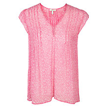 Buy Joie Macy B Silk Top, Orchid Online at johnlewis.com