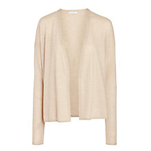 Buy Nicole Farhi Treated Cardigan, Fawn Online at johnlewis.com
