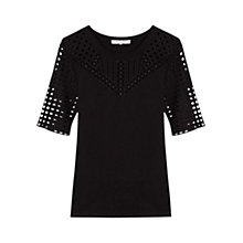 Buy Gerard Darel Alaska Top, Black Online at johnlewis.com