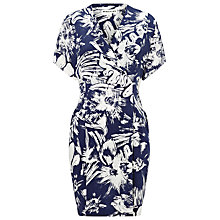 Buy Whistles Bloomsbury Print Louisa Dress, Blue/Multi Online at johnlewis.com