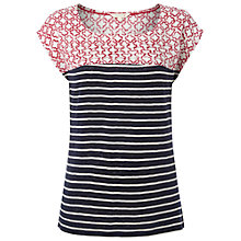 Buy White Stuff Havanna Tee, Coral Red Online at johnlewis.com